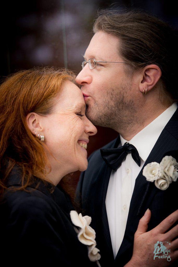 Magic Feeling - Brautpaar und standesamtliche Trauung
