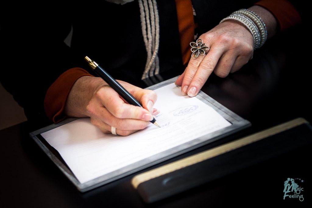 Standesamt Hofheim Trauung Unterschrift