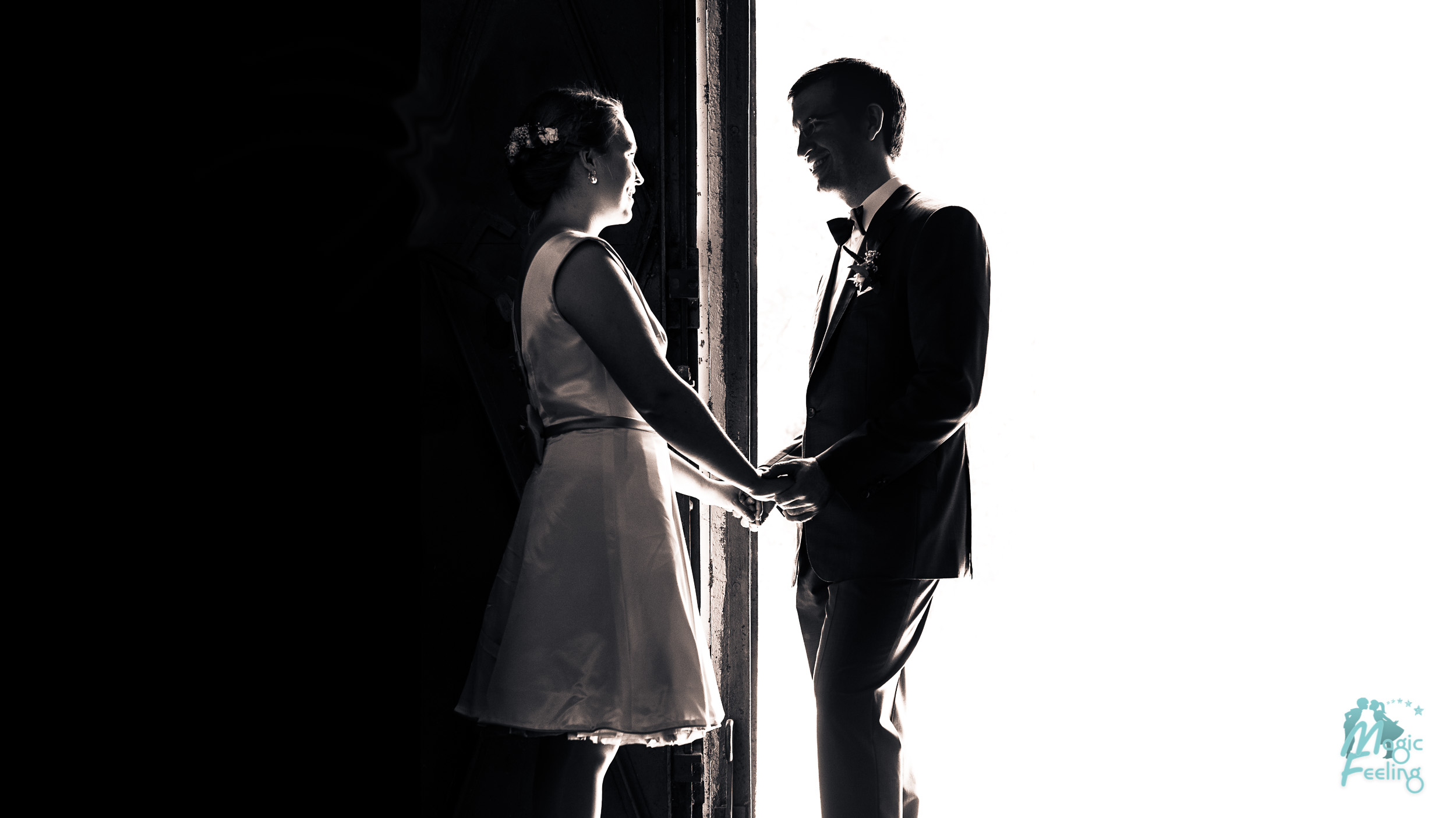 Magic Feeling - Hochzeit Black and White